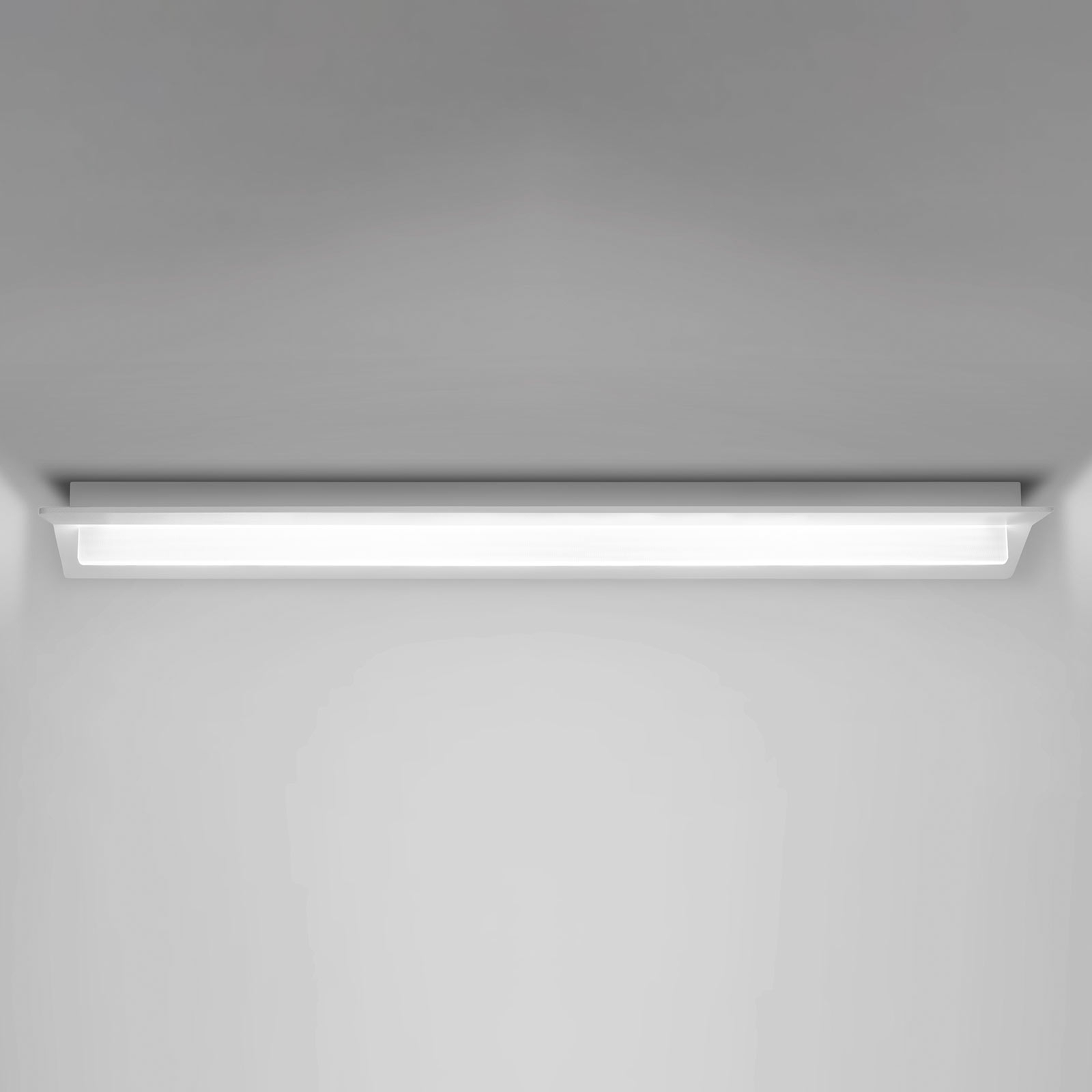 Flurry LED-taklampe, 70 cm, hvit