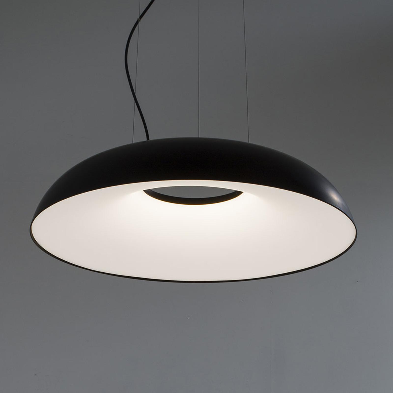 Martinelli Luce Maggiolone Pendel 930 85cm schwarz