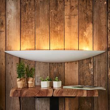 Gipswandlampe Tommi in Weiß