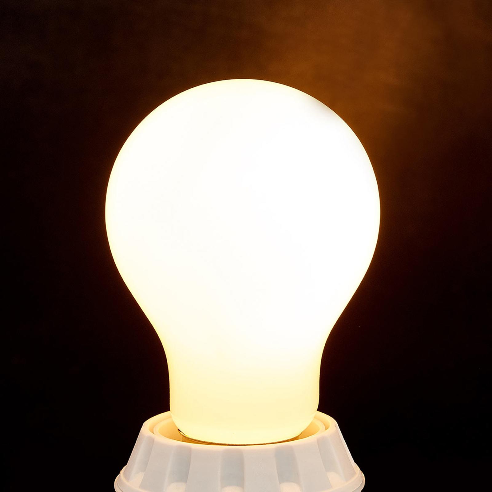 E27 bombilla LED 7W, 806Lm, 2.700K, opalino