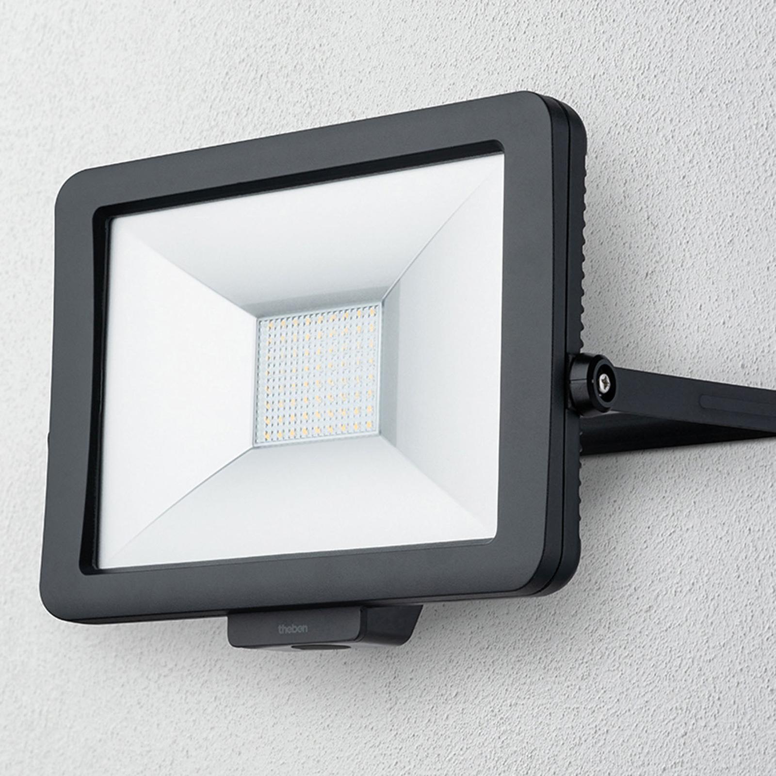 Theben theLeda B50L LED-Außenstrahler, schwarz