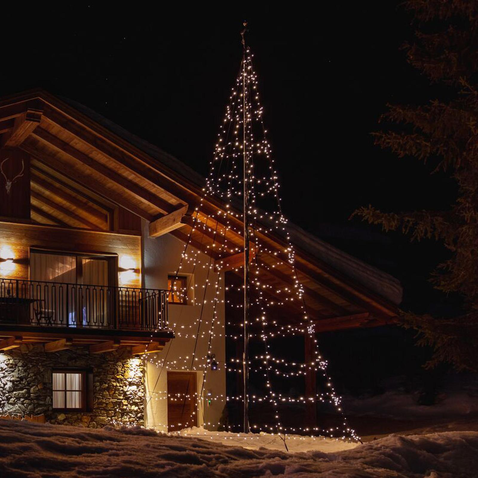 Twinkly Light Tree für außen, RGBW, Höhe 200cm