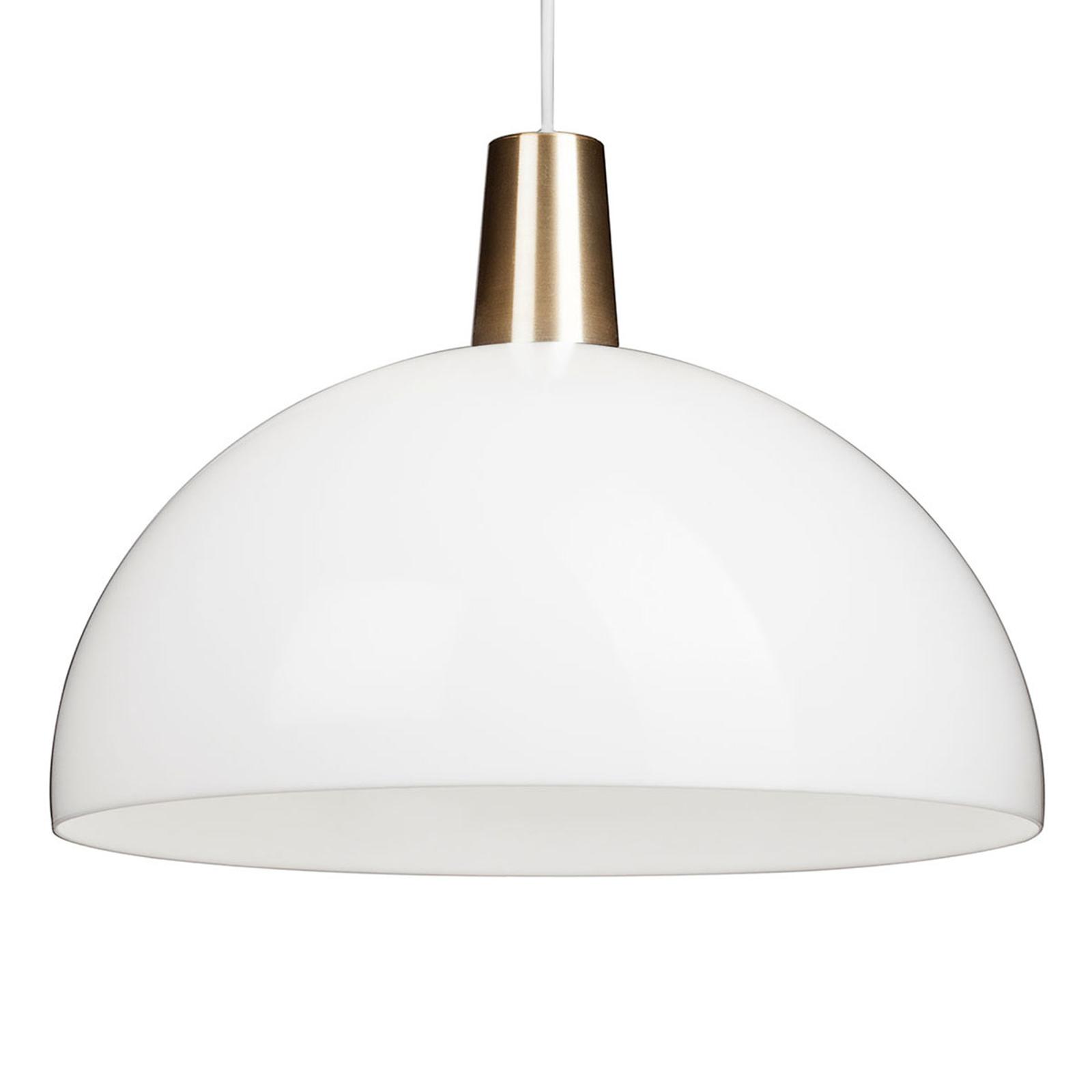 Innolux Kupoli hængelampe me detaljer i messing