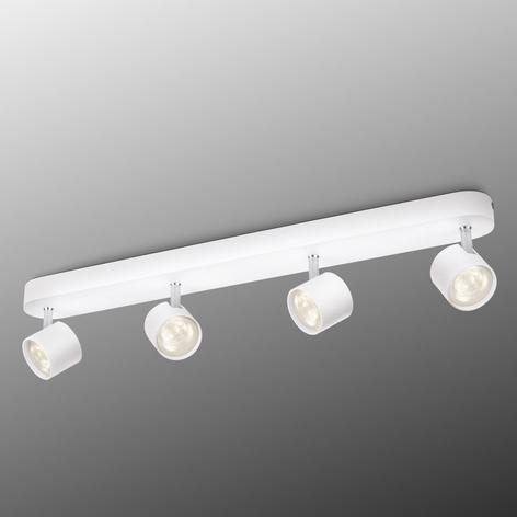 Star LED-taklampe med fire lyskilder