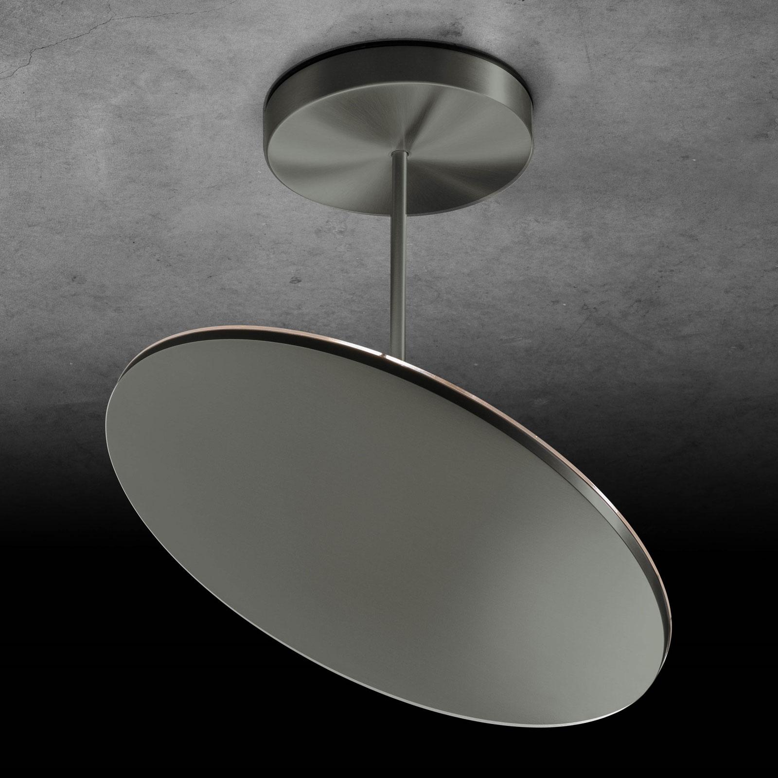 Holtkötter Plano XL LED-Deckenlampe platin