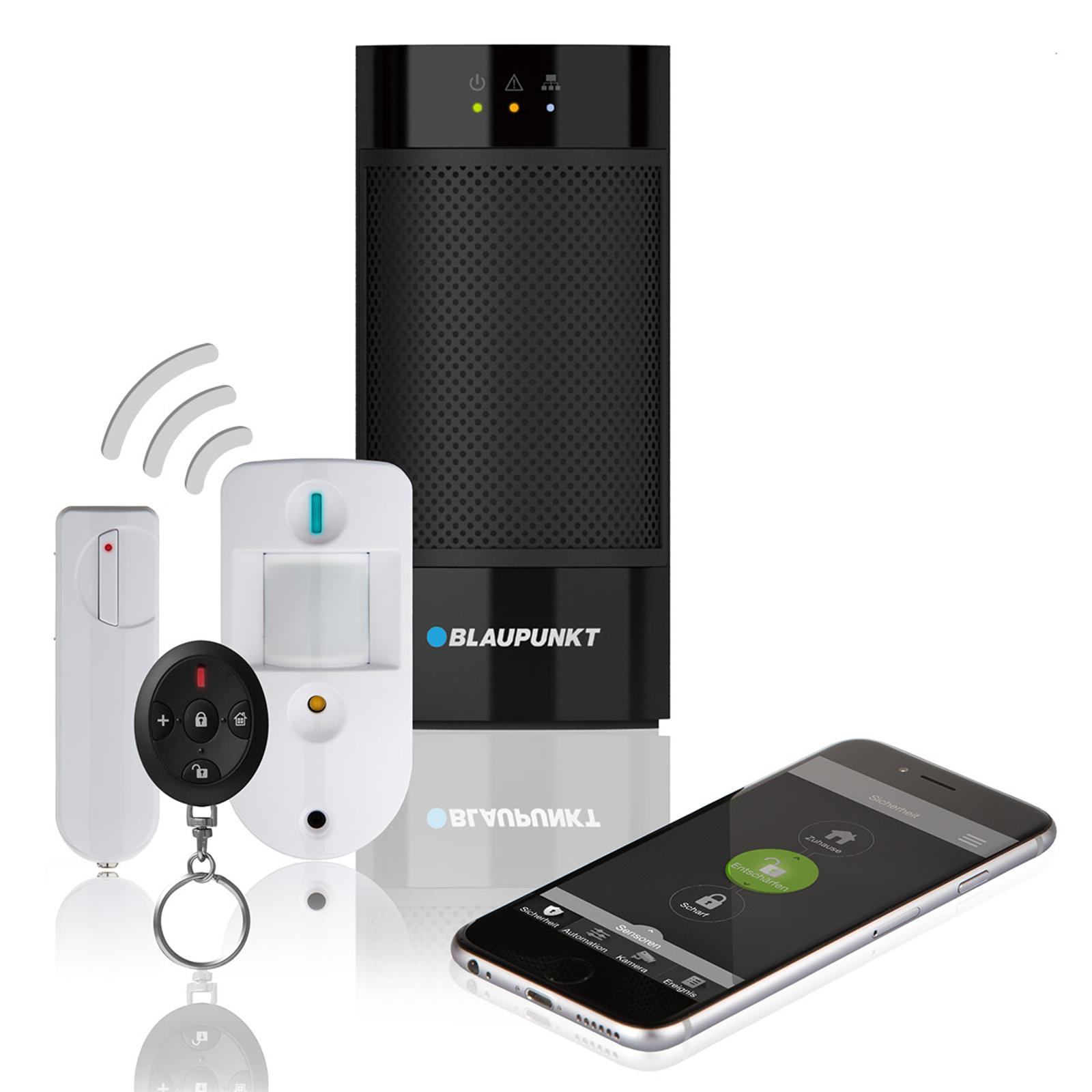 Blaupunkt Q3200 Funk-Alarmanlagen-Set mit Kamera