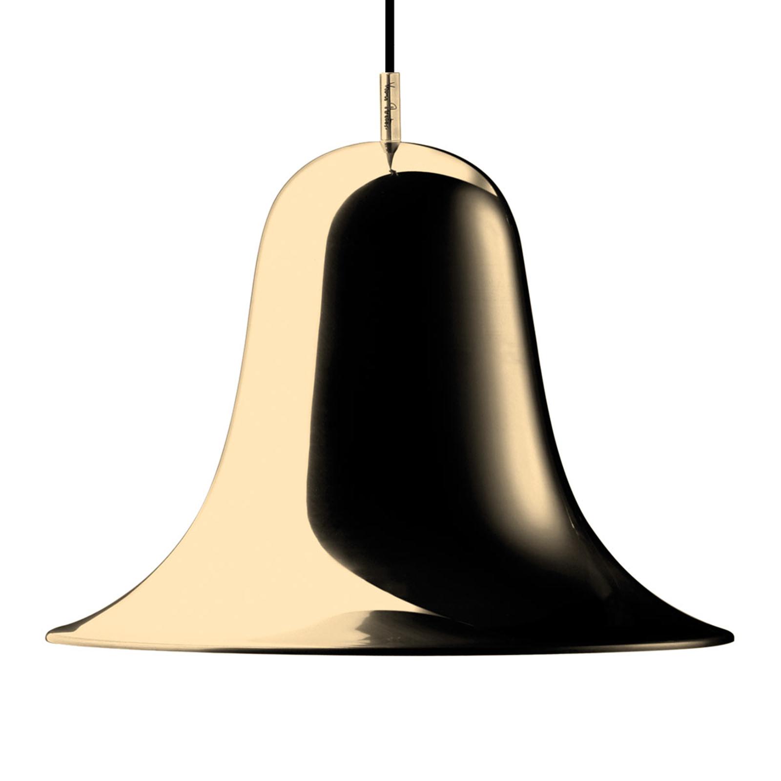 VERPAN Pantop hanglamp, Ø 30 cm, messing glanzend