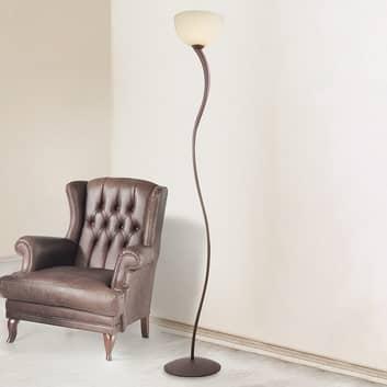 Christian uplight-lampe i brun