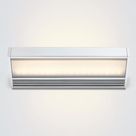 Aplique LED SML de aluminio pulido