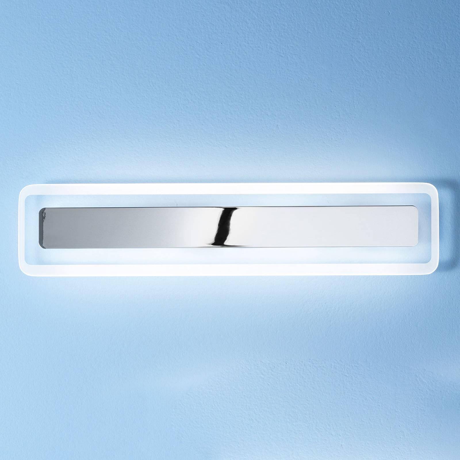LED wandlamp Antille chroom 61,4 cm