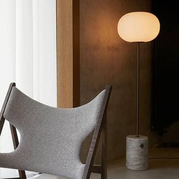 Menu JWDA Stojací lampa ze světlého mramoru