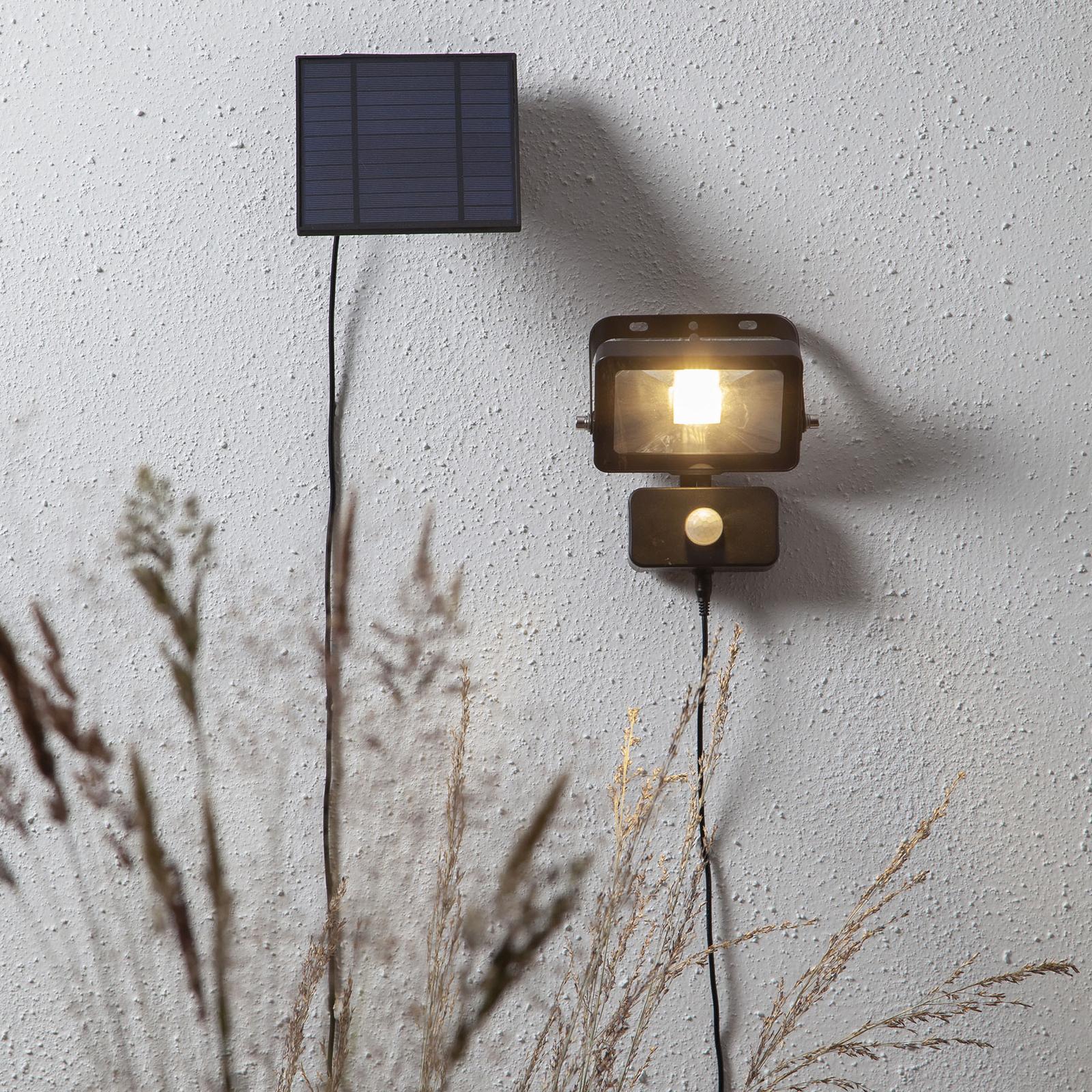 Lampa solarna LED Powerspot Sensor, pałąk, 800lm