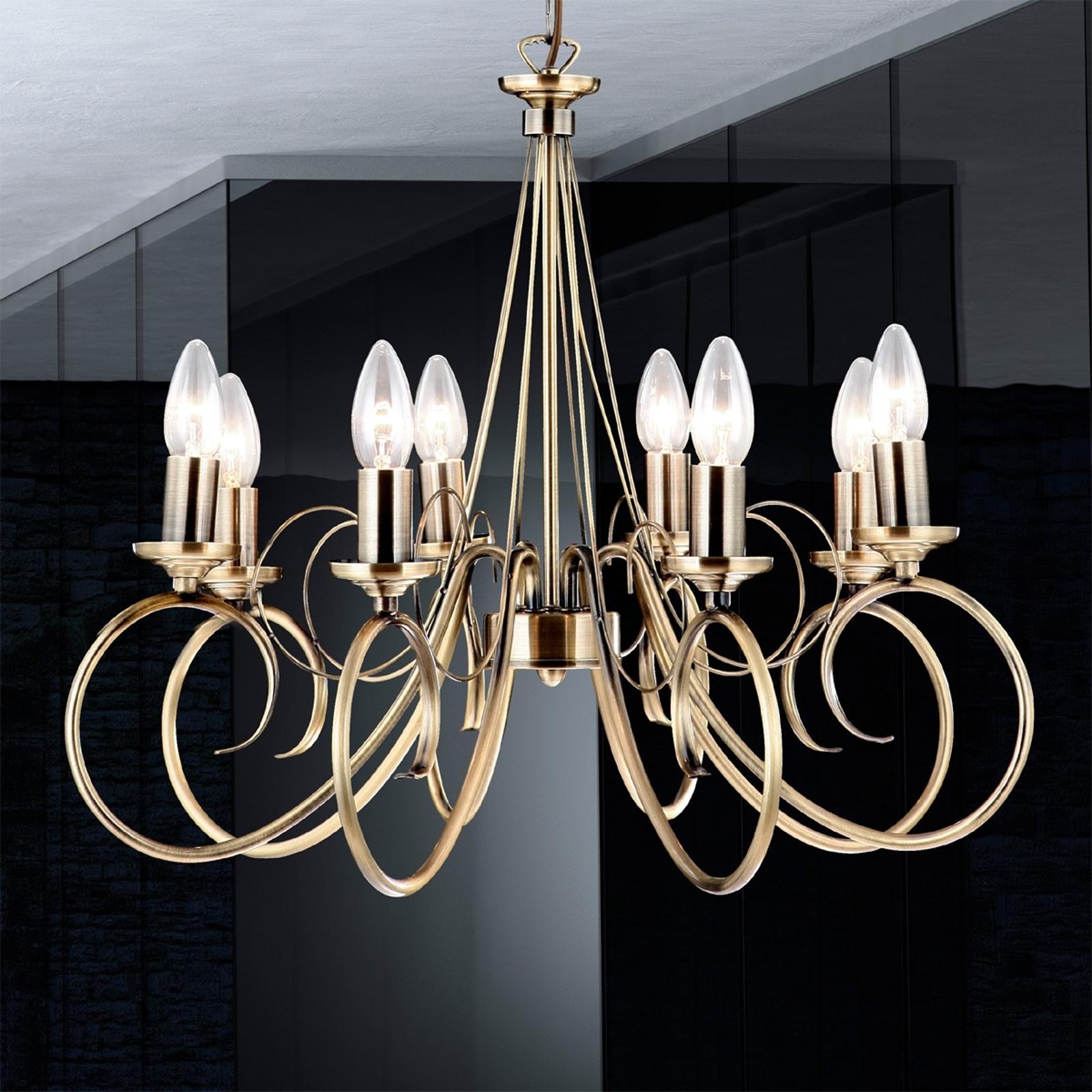 Sfeervolle hanglamp TRUNCATUS, 8-lichts