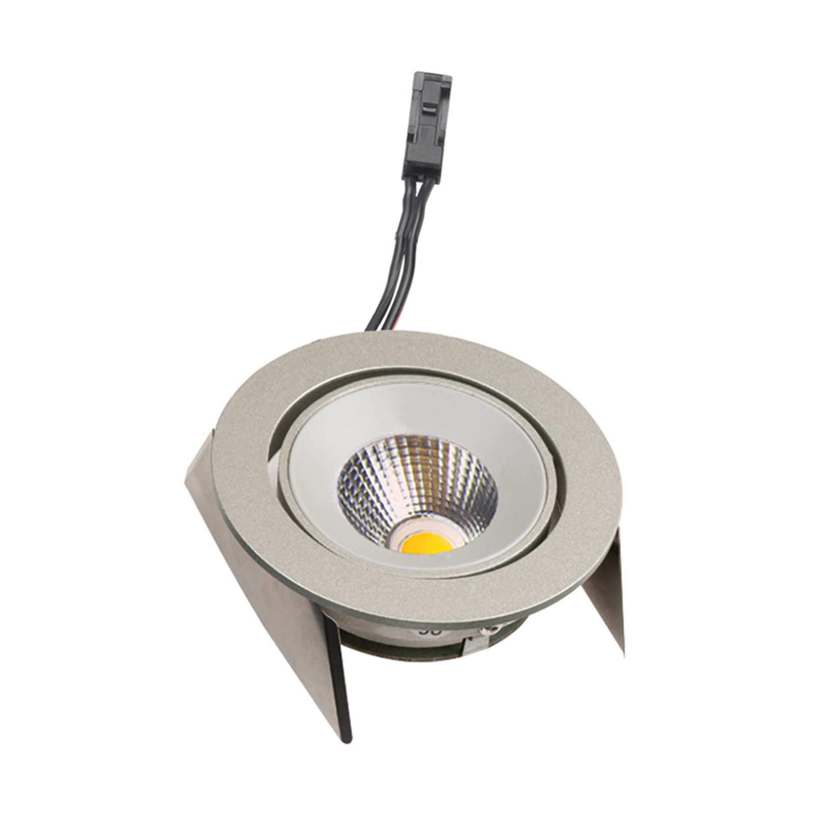 Lampe encastrée LED SR 68 43° Dim-to-Warm, inox