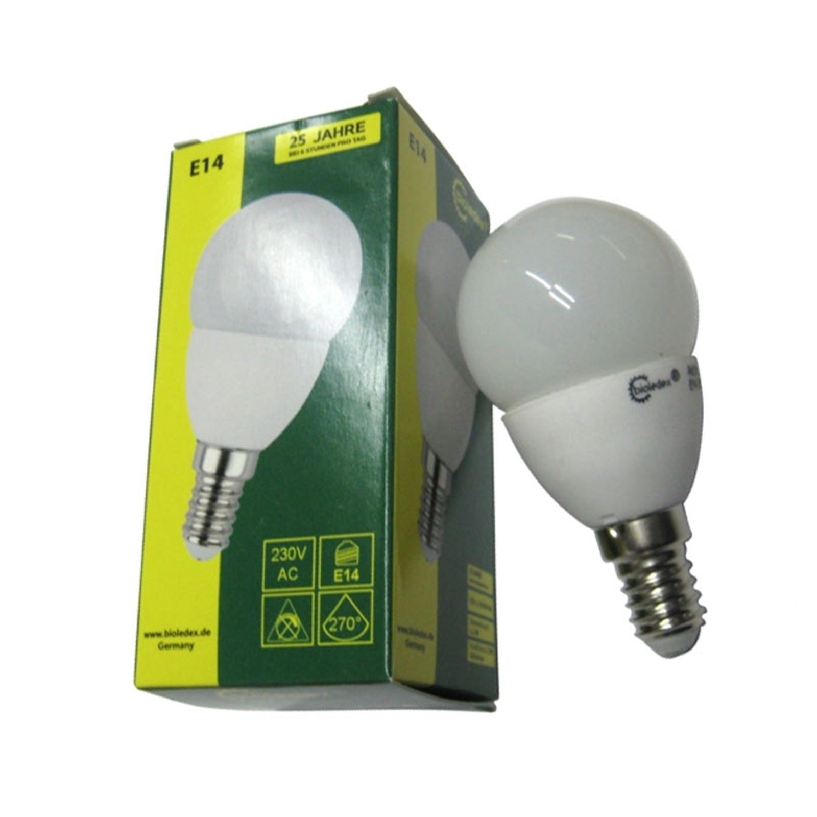 Lampe LED Tema E14 3W blanc chaud (3000 K)