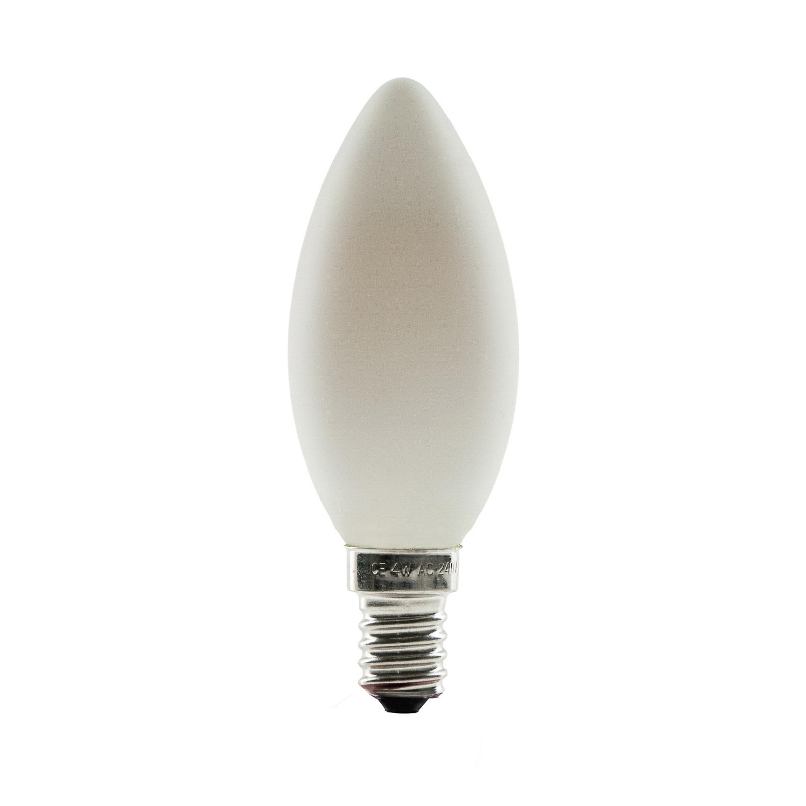 SEGULA żarówka świeca LED E14 4W ambient opalowa