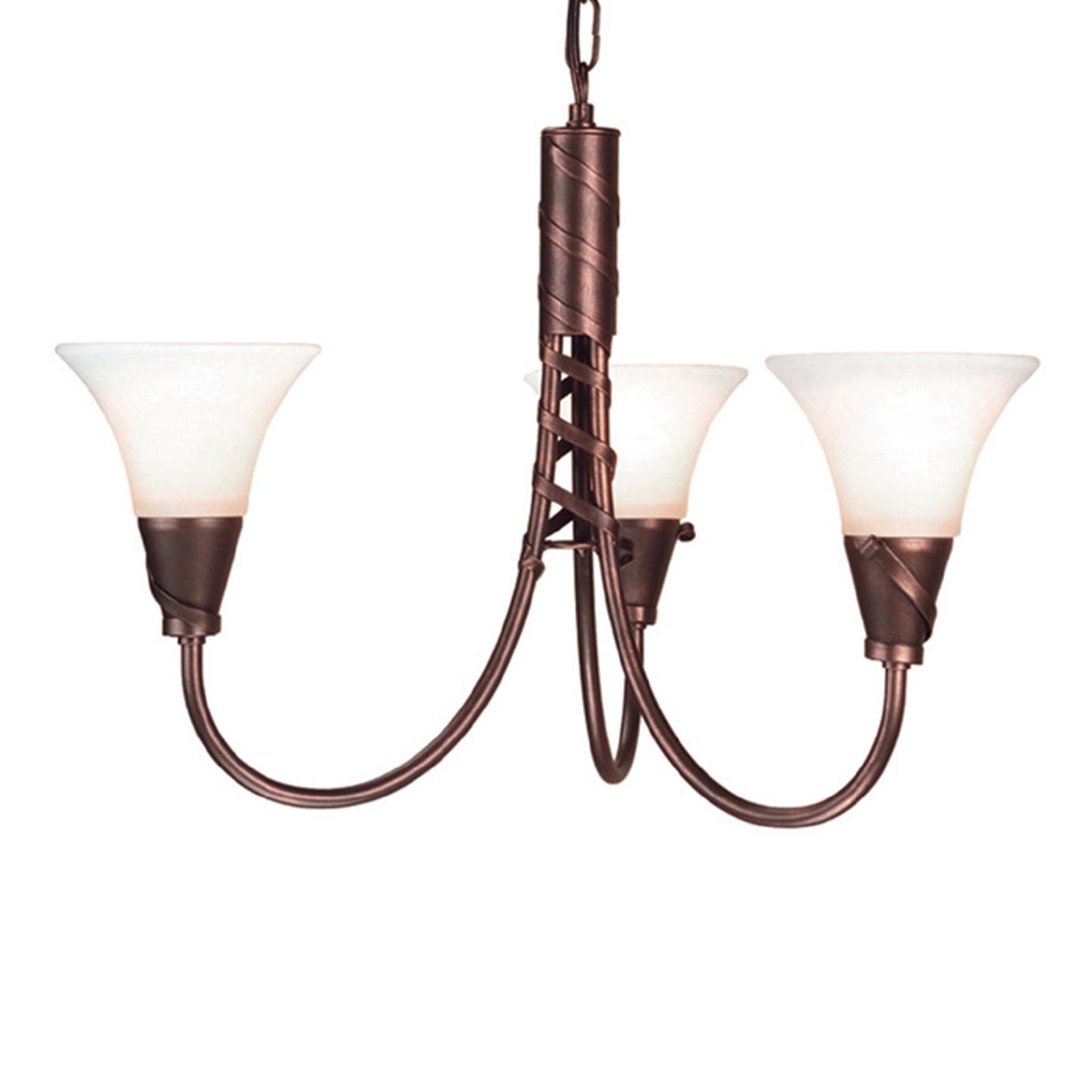 Ravissante suspension à 3 lampes EMILY