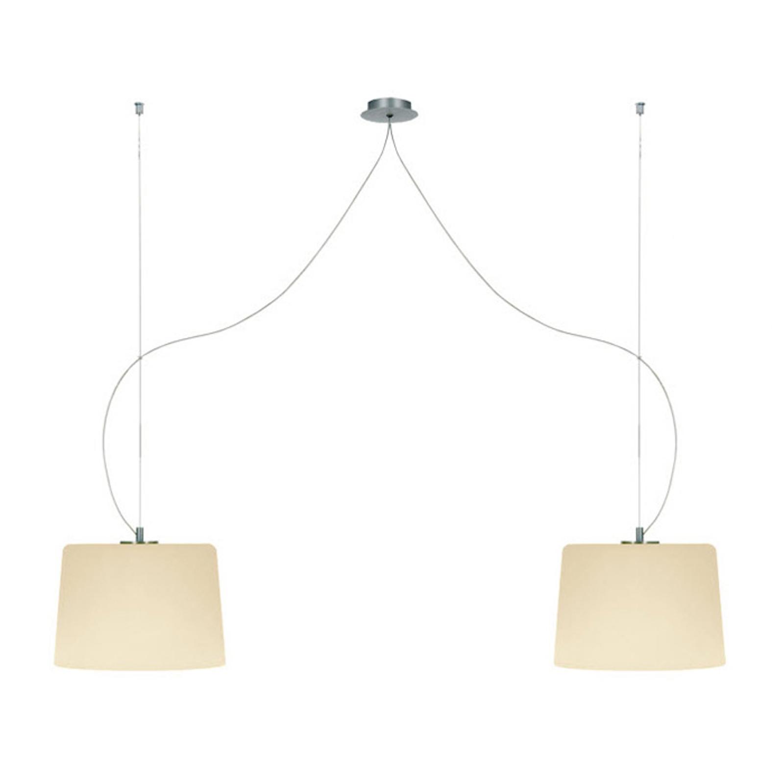 Lampada a sospensione MESA 2 lampadine