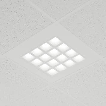 Panel empotrable LED Merti en blanco, 4.000 K