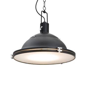 Lámpara colgante Kemi, negro, Ø 38,5 cm