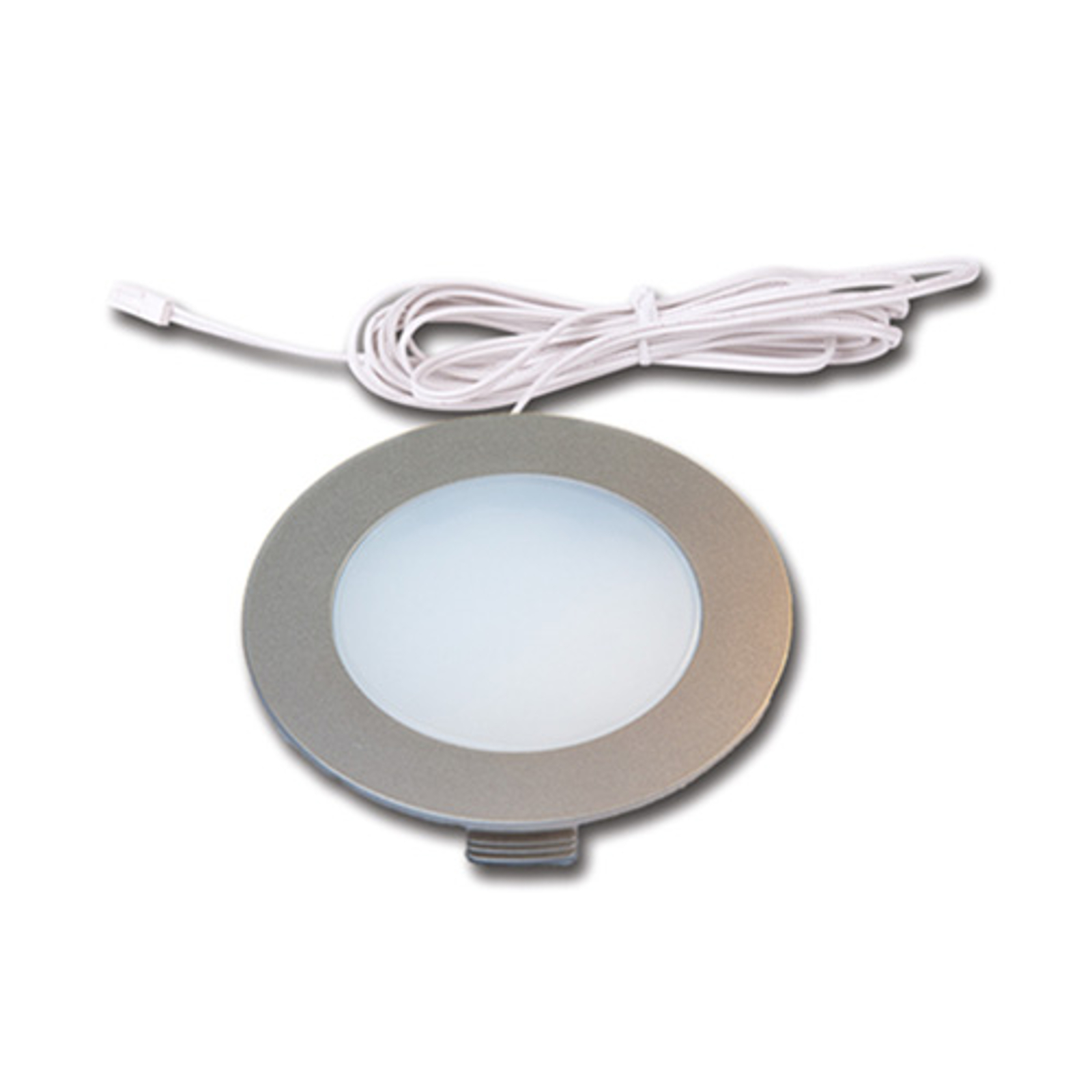 LED incasso FR 78 set 3x bianco caldo
