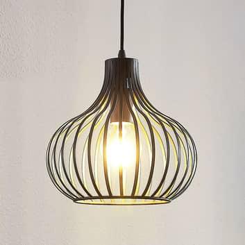 Lampada a sospensione a gabbia Frances 1 luce 28cm