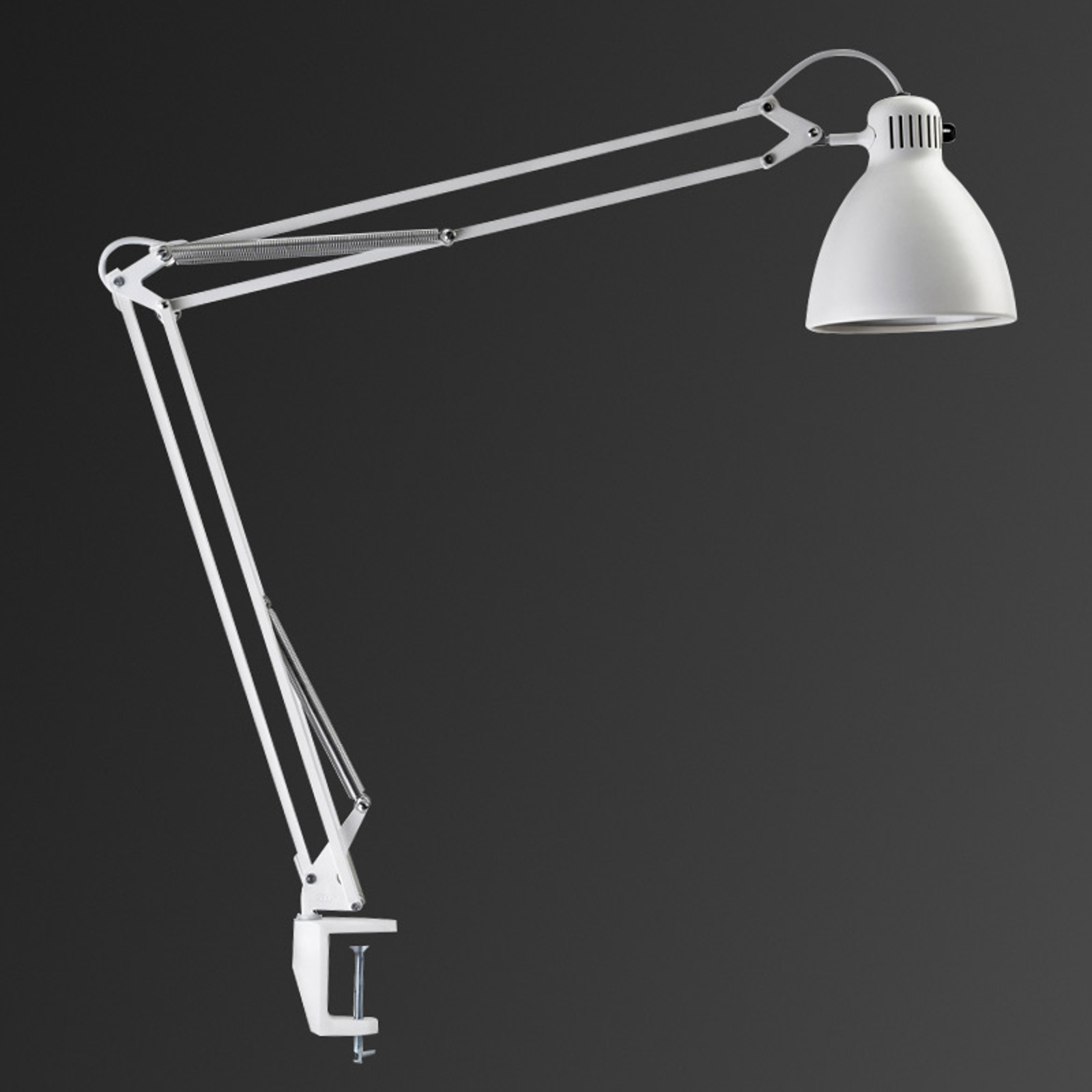 Innovatieve klemlamp L-1 Led wit