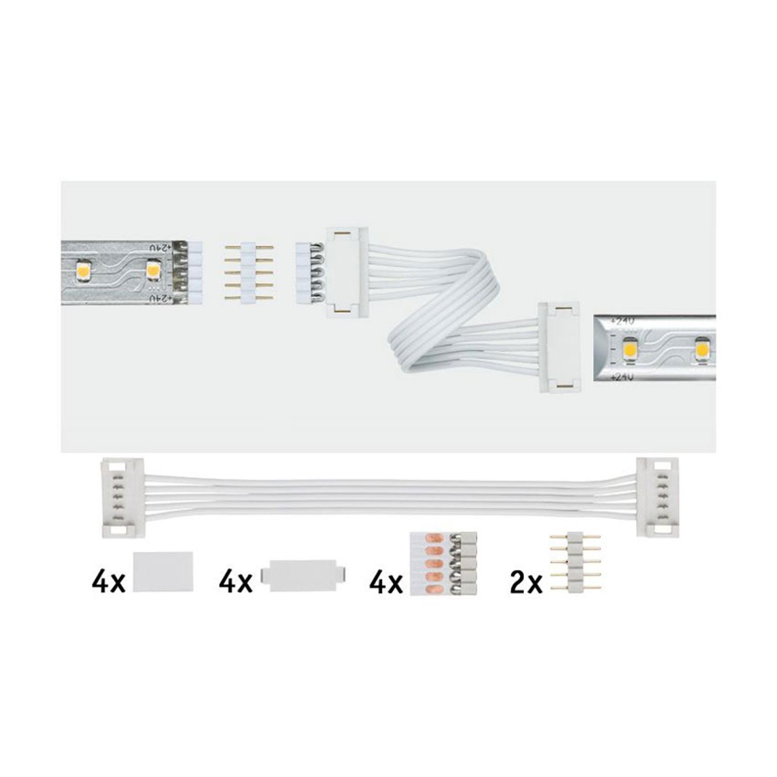 Paulmann MaxLED connecteur universel, par 2, blanc