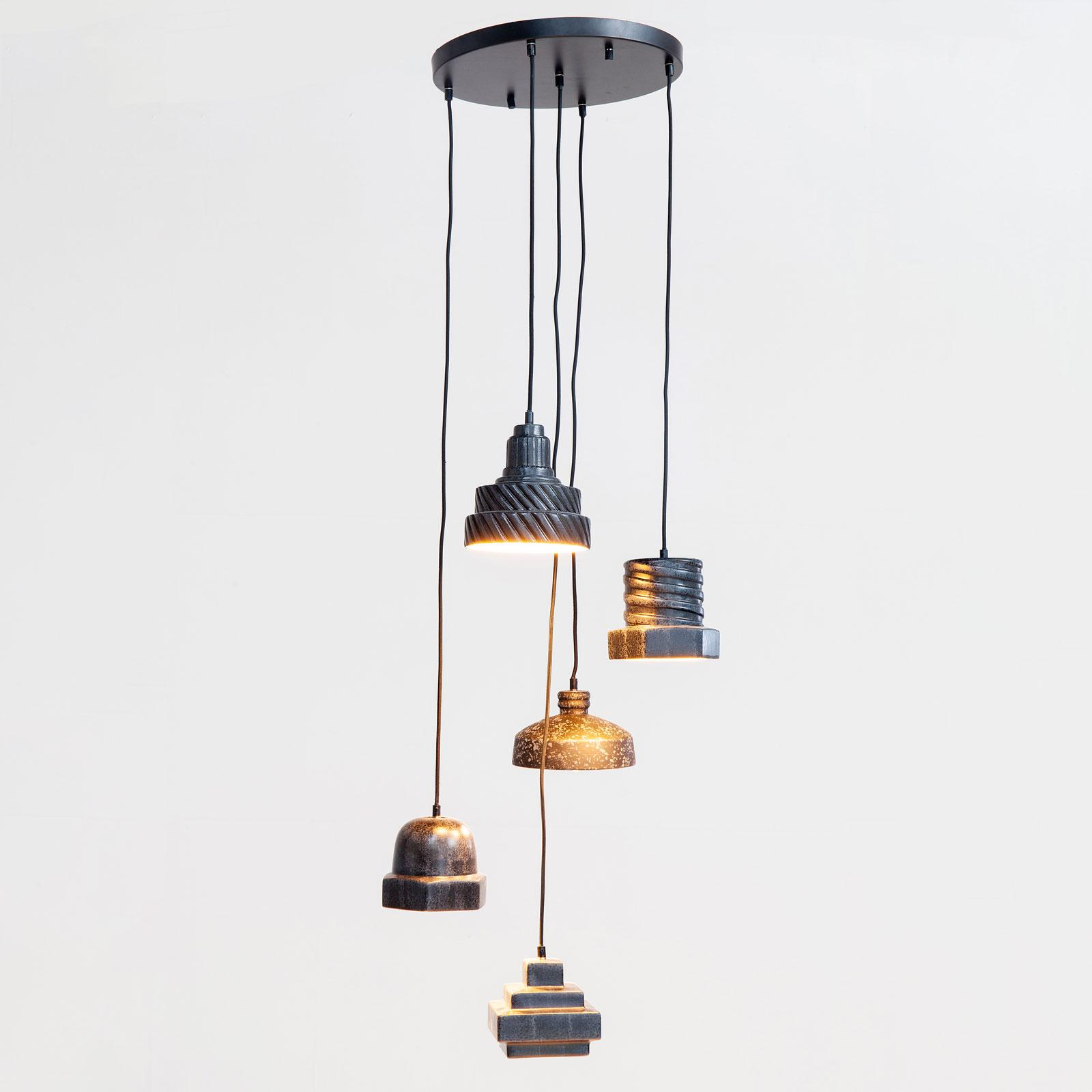 KARE Tool Spiral lampa wisząca, Ø 53 cm