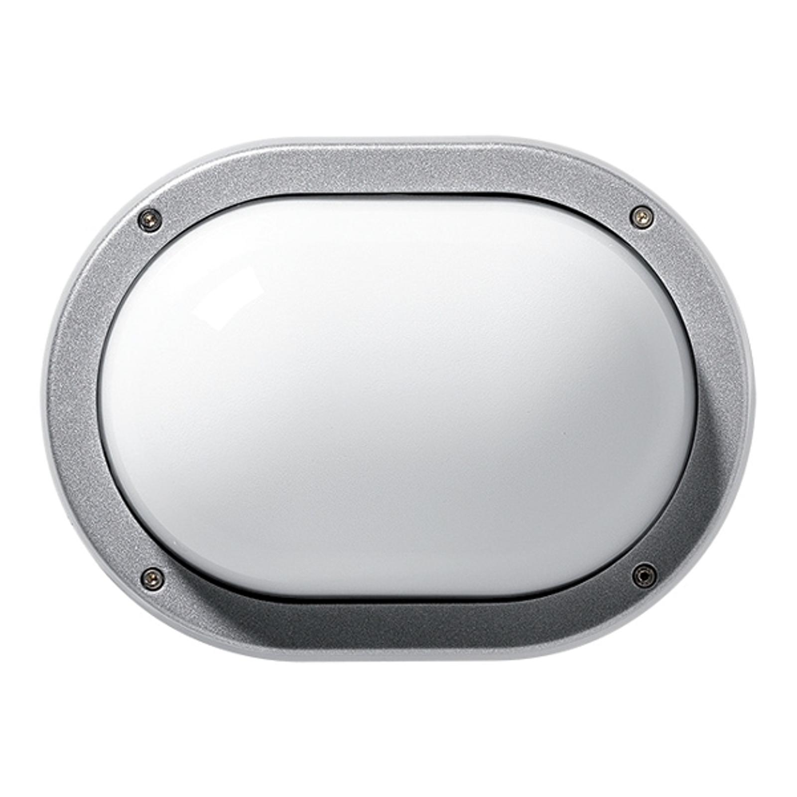 Praktische buitenwandlamp EKO, grijs