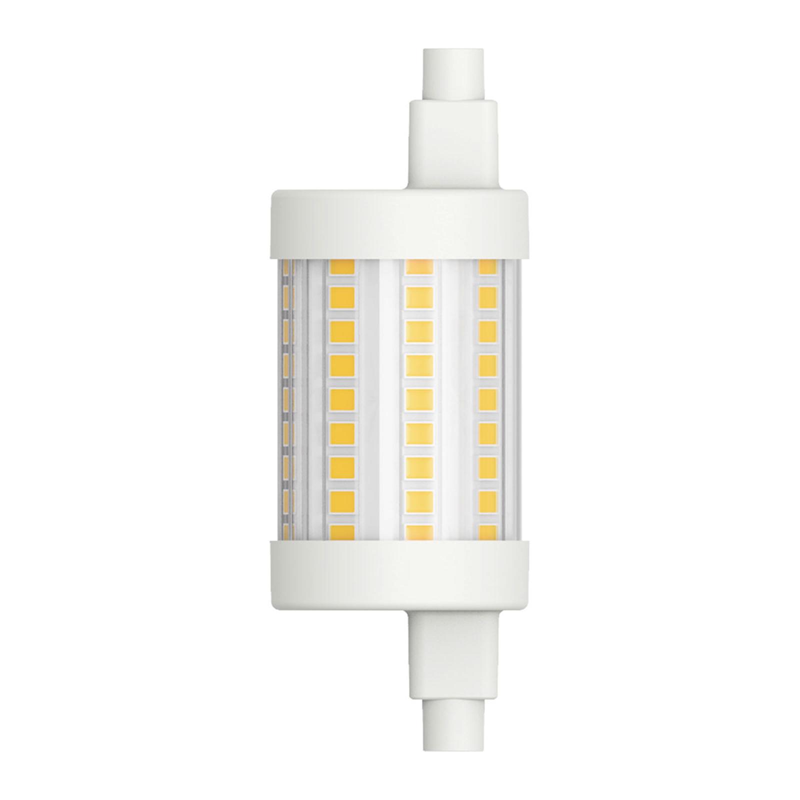 LED-stav R7s 78,3 mm 8W varmhvit