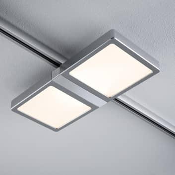Paulmann URail Double LED-panel i krom matt