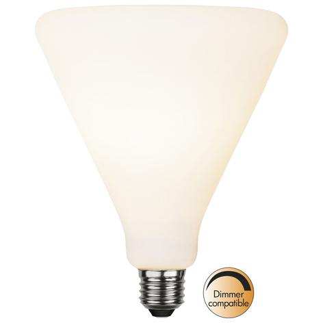 LED E27 5,6W 420lm triángulo blanco cálido dim
