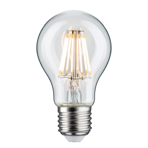 LED E27 7,5W filamenti 2.700 K, trasparente