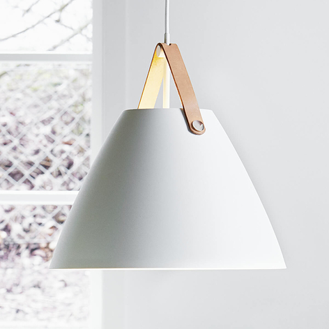 LED-Pendelleuchte Strap 36, weiß