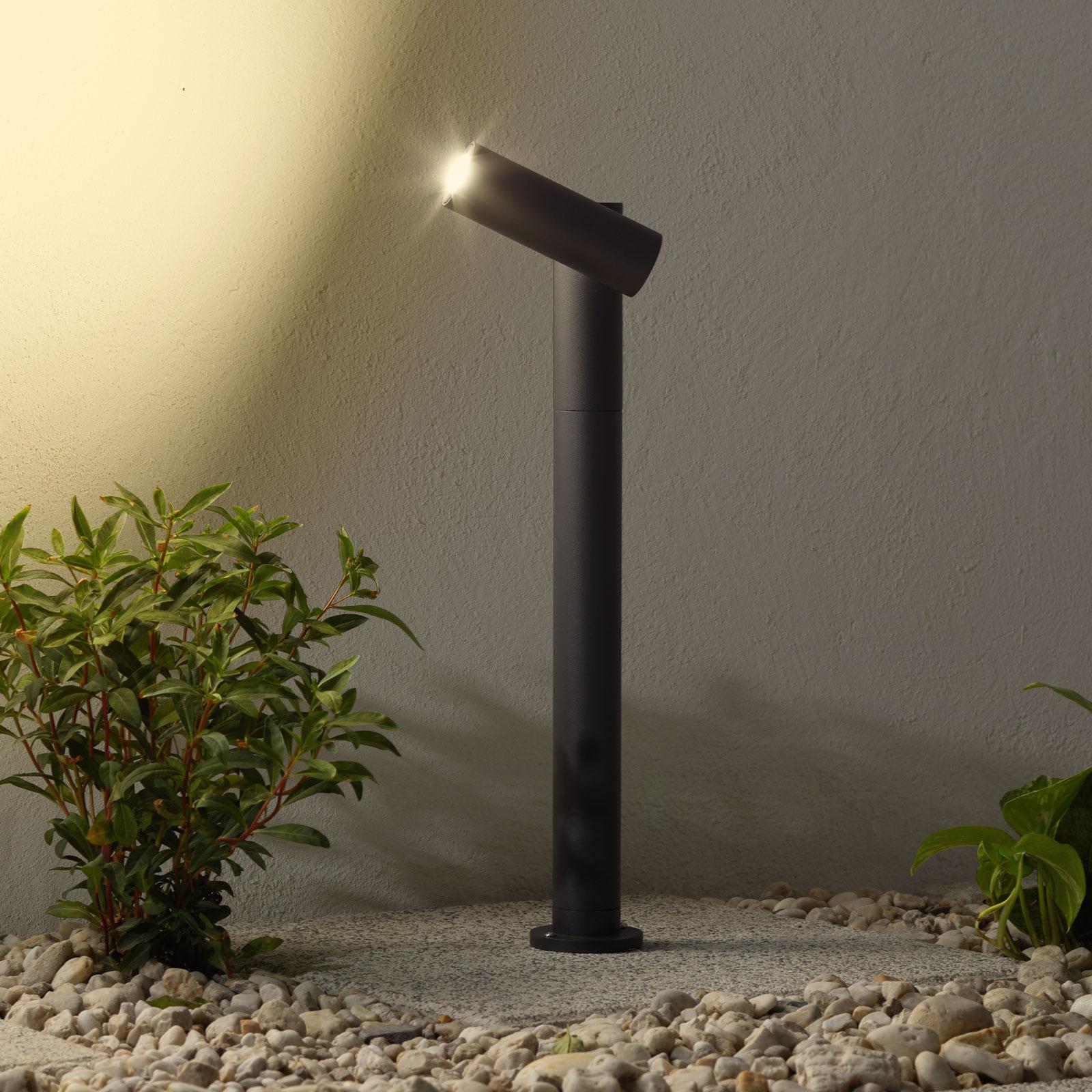 Lampione a LED Narea regolabile, 43 cm