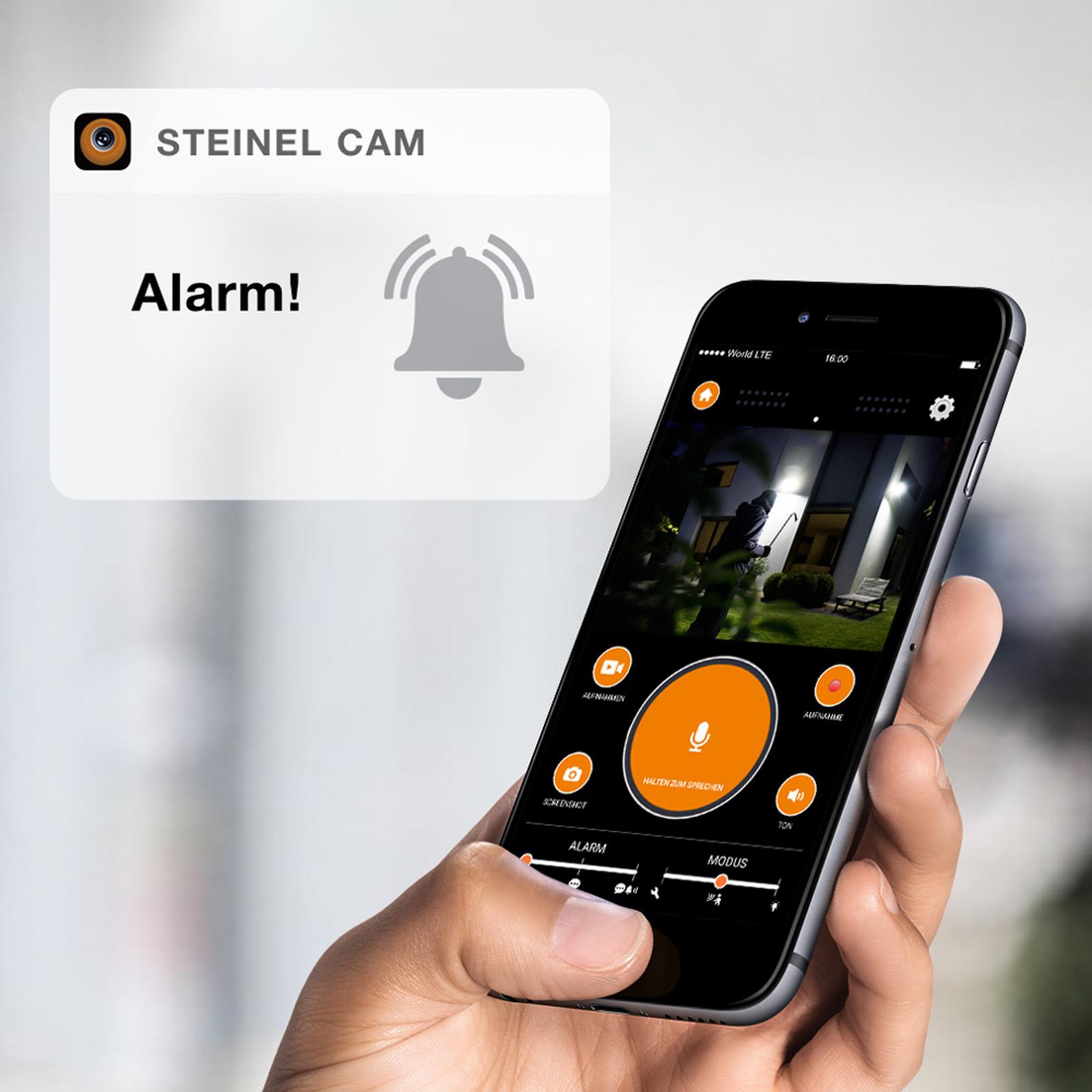 STEINEL XLED Cam 1 -kamerakohdevalo