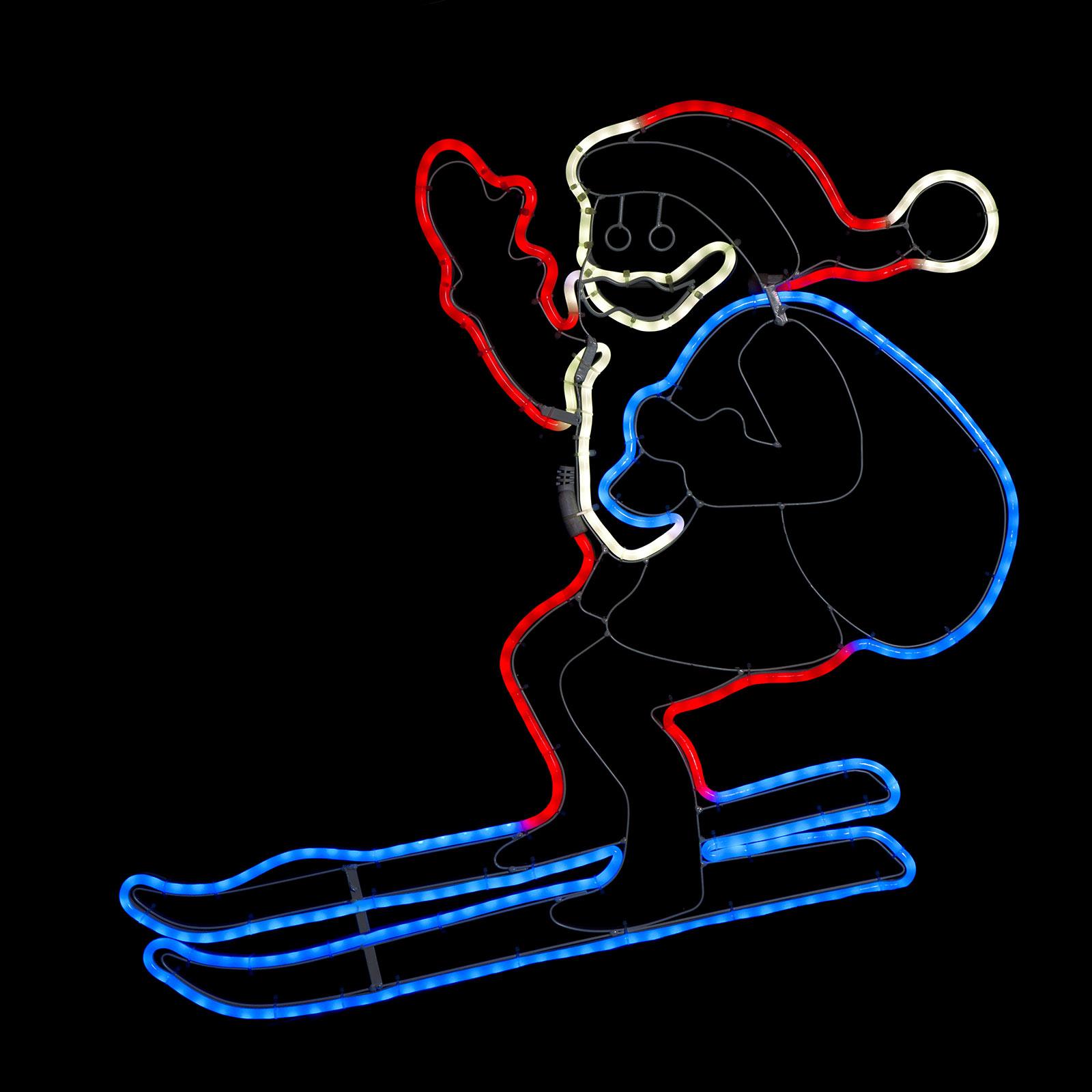 LED-Silhouette NeoLED Santa