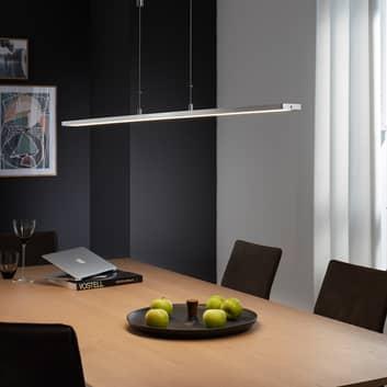 Suspension LED Metz bouton, longueur 160cm, alu