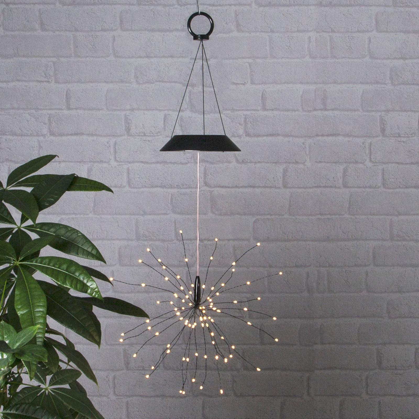 Lampada a sospensione LED solare Firework