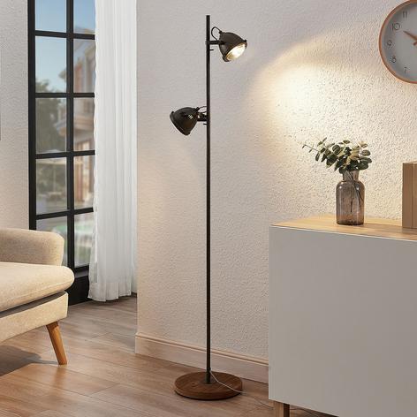 Lindby Shila lampadaire à spots à 2 lampes
