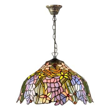 Lampa wisząca KT1082+C2 w stylu Tiffany