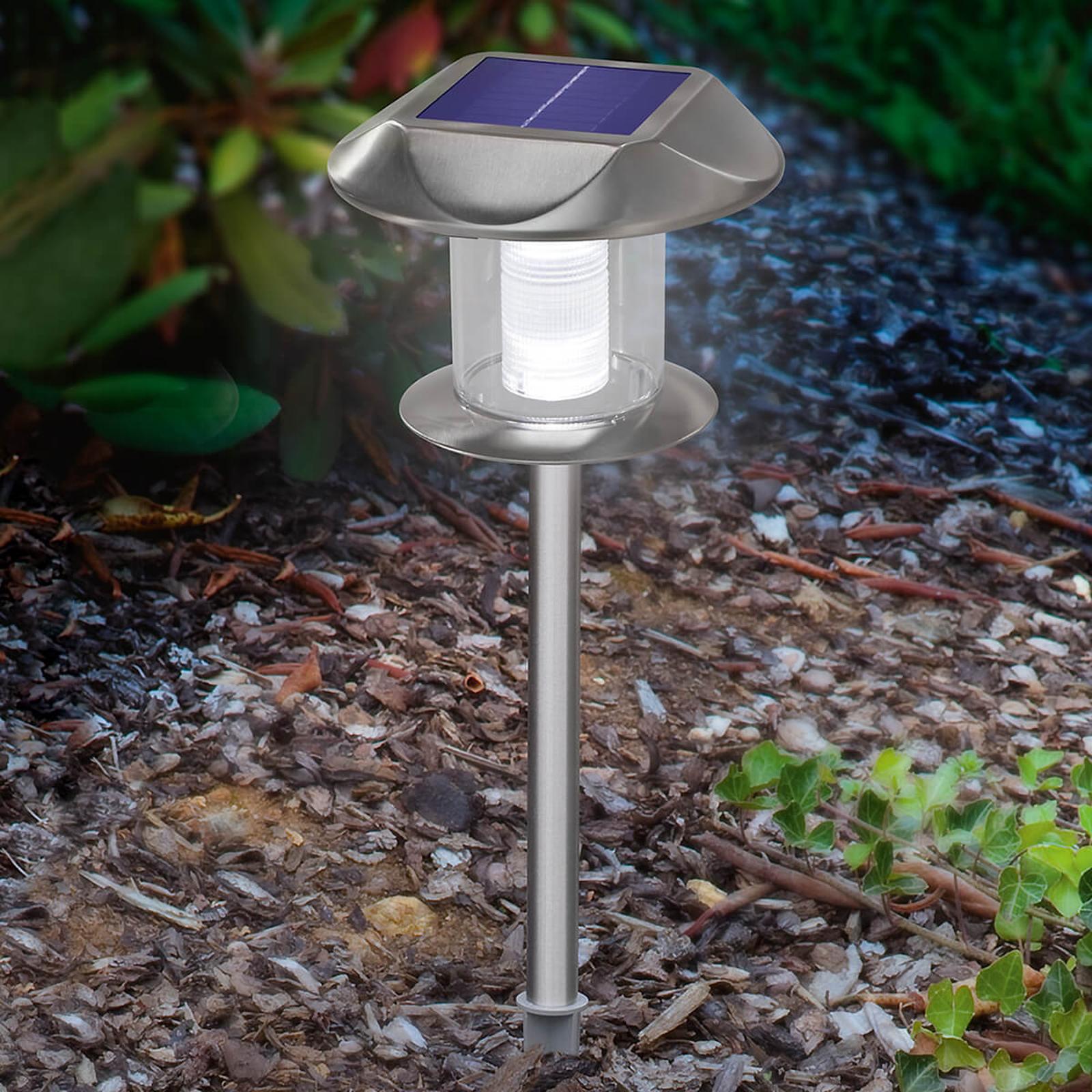 Sunny LED-Solarleuchte, warmweiß und tageslicht