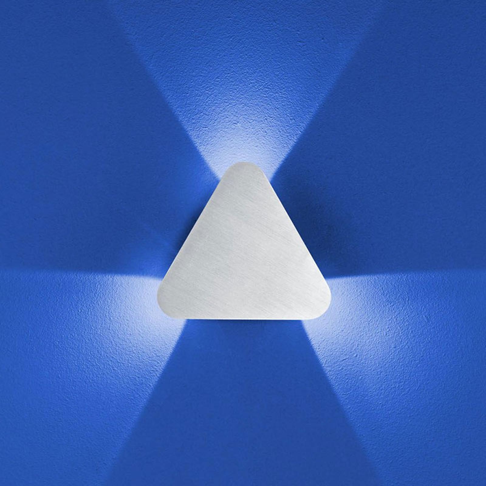 B-Leuchten Prince Wandleuchte IP54, dreieckig