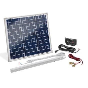 Solarny zestaw zasilający wyspowy 30W