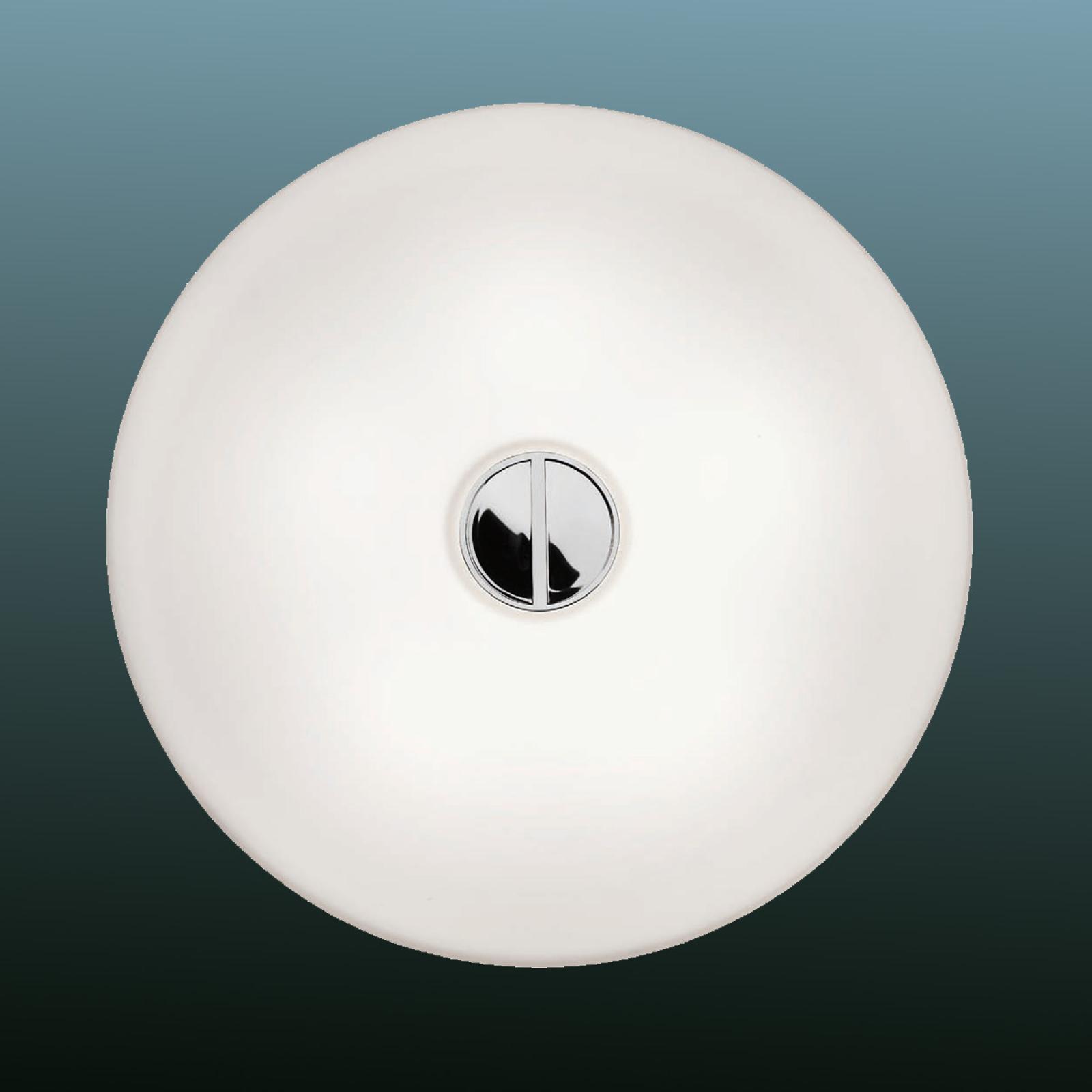 Tlačítko FLOS - jednoduché stropní svítidlo IP44