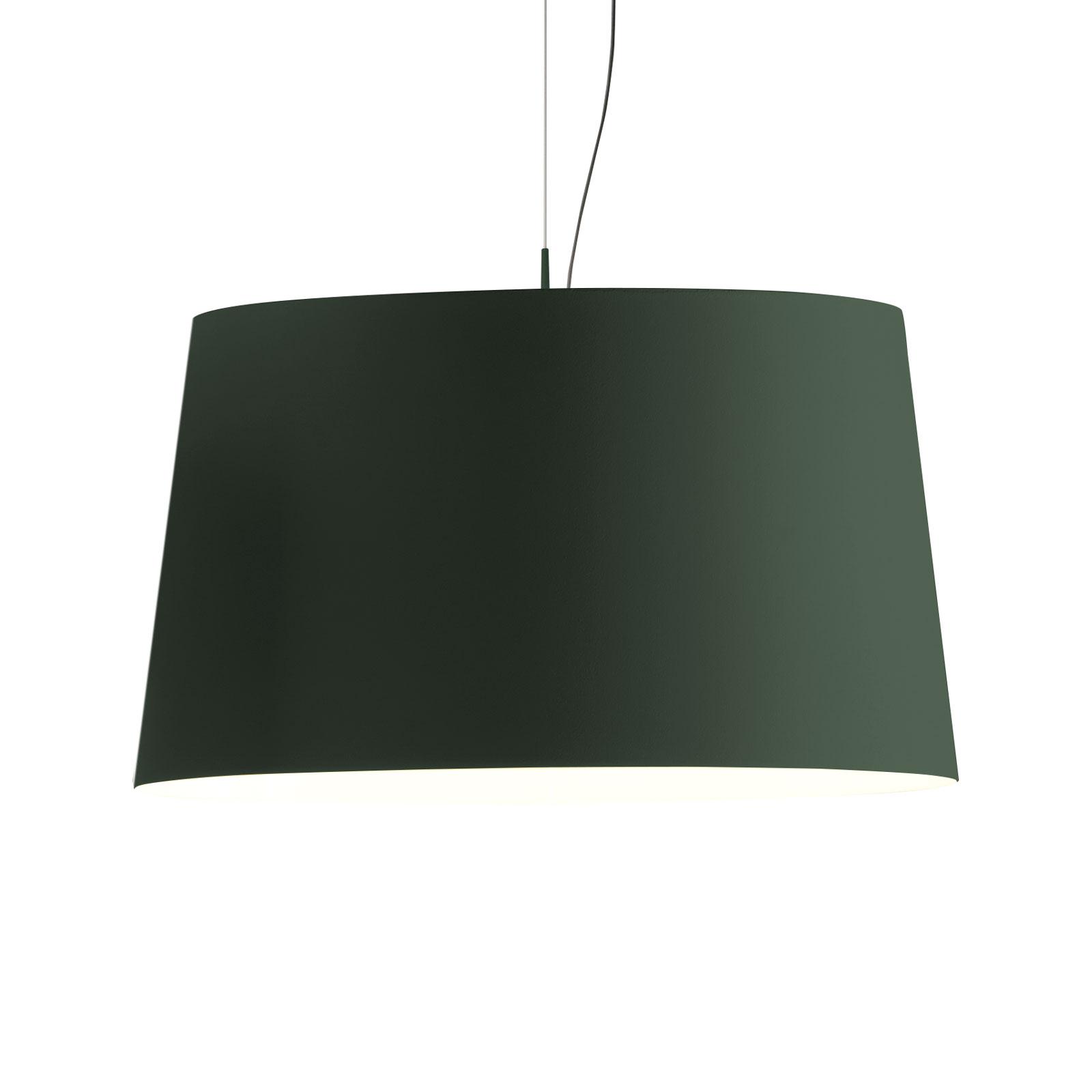 Vibia Warm 4926 lampa wisząca, zielona