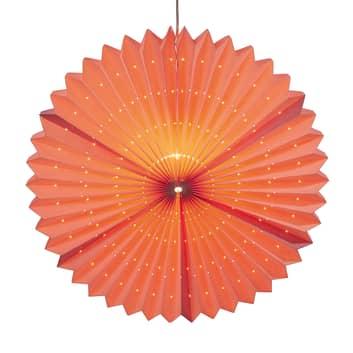 Lámpara decorativa farolillo Sunny, rosa