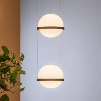Vibia Palma 3726 LED-riippuvalo 2-lamppuinen