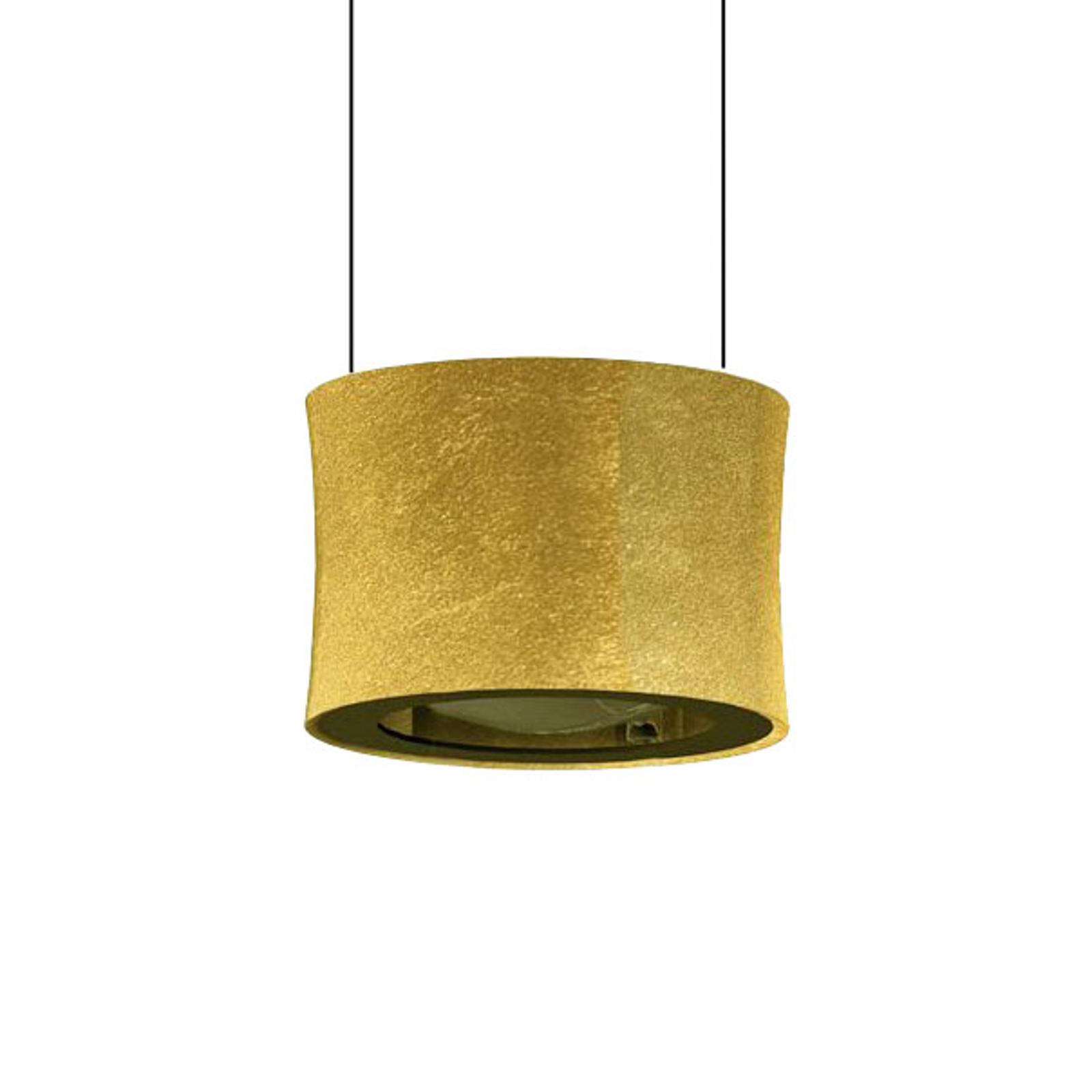 BANKAMP Impulse LED-Hängeleuchte 1-flammig gold